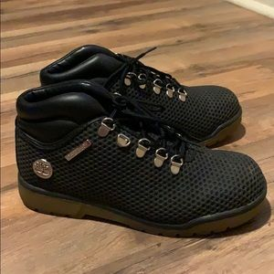 Timberland black shoes boots 5.5